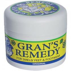 Gran's Remedy老奶奶除脚臭粉 黄色原味50g