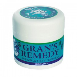 Gran's Remedy老奶奶除脚臭粉 蓝色薄荷味50g