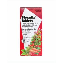 Floradix 纯天然 铁元片剂 84片