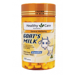 Healthy Care 羊奶片香草味 300粒
