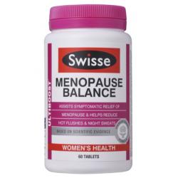 Swisse 更年期平衡营养素 60粒 大豆异黄酮 改善女性更年期症状