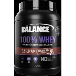 Balance 100% WHEY 乳清蛋白粉 1kg 巧克力味