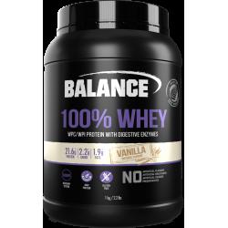 Balance 100% WHEY 乳清蛋白粉 1kg 香草味