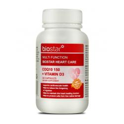 Biostar 葆星 多功效护心辅酶150+V D3 60粒