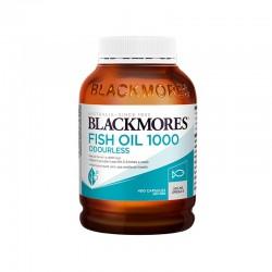 Blackmores 无腥味鱼油 1000mg 深海鱼油 400粒
