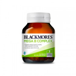 Blackmores 天然维生素B族 Mega B Complex 75粒 多元维生素