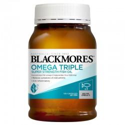 Blackmores 无腥味鱼油 三倍鱼油 150粒 一粒含量顶三粒