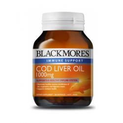 Blackmores 鳕鱼肝油 1000mg 80粒