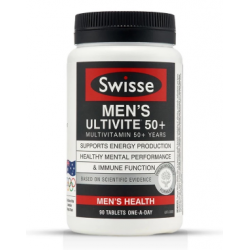 Swisse 男性复合维生素50+岁起 90粒