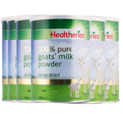 Healtheries 贺寿利 山羊奶粉 450g *6罐 包邮