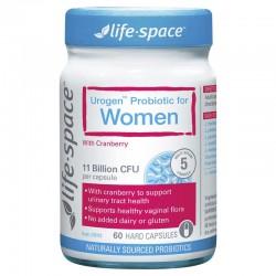 Life Space 女性益生菌胶囊 60粒