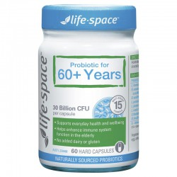Life Space 老年益生菌胶囊 60粒