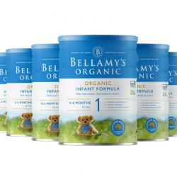 Bellamy's 贝拉米奶粉1段(6罐直邮包邮)必须提供身份证号码