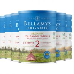 Bellamy's 贝拉米奶粉2段(6罐直邮包邮)必须提供身份证号码