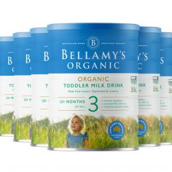 Bellamy's 贝拉米奶粉3段(6罐直邮包邮)必须提供身份证号码