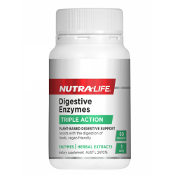 Nutralife 纽乐 植物消化酶酵素 60粒