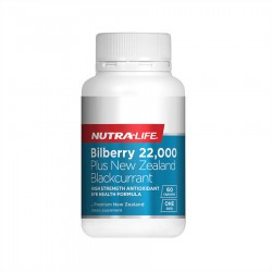 Nutralife 纽乐 蓝莓越橘胶囊含黑加仑 护眼保护视力 60粒