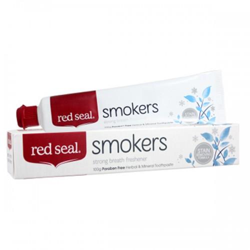 Red seal 红印 烟民去渍牙膏 100g