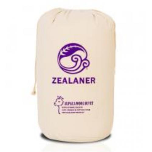 【一件包邮】Zealaner 姿兰 新西兰优质羊驼毛 Queen Size 210cmx210cm 2.6kg  被子 保暖透气,轻盈不压被