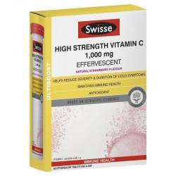 Swisse 维生素C泡腾片 草莓味 60片