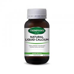 THOMPSON'S 汤普森 天然液体钙胶囊60粒