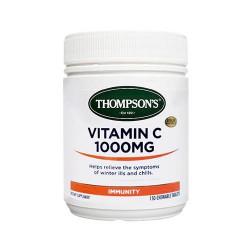 THOMPSON'S 汤普森 维生素VC 咀嚼片 1000mg 150粒